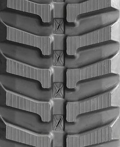 Kubota KX040-4 Rubber Tracks Tread