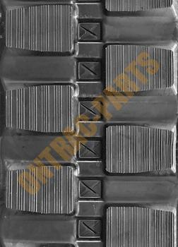 Takeuchi TL130 Rubber Track Standard Block Tread