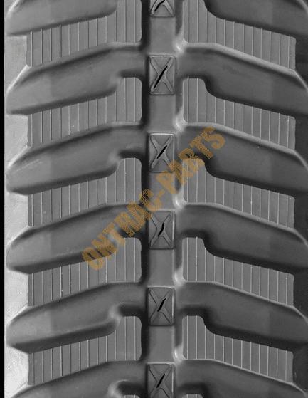 Bobcat X331 Rubber Track Tread